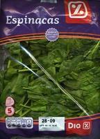 Espinaca - Producto