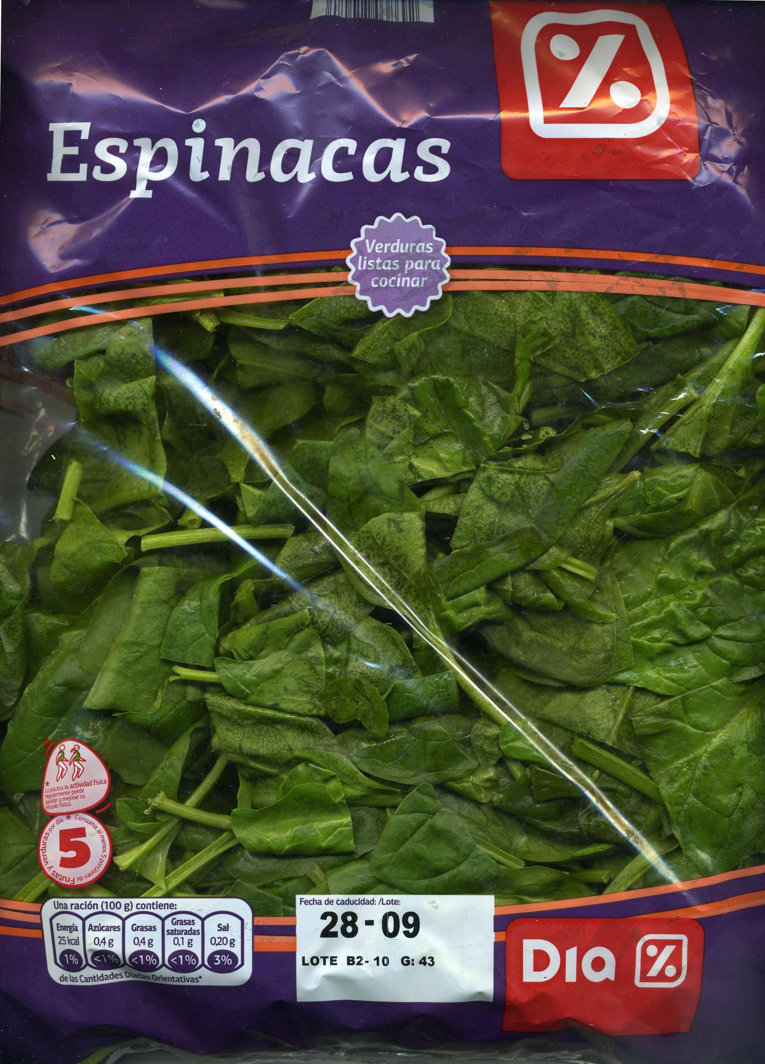 Espinaca - Producto - es