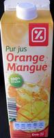 Pur jus Orange Mangue - Produit - fr