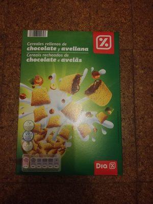 Céréales Chocolatées Fourrées au Chocolat - Product