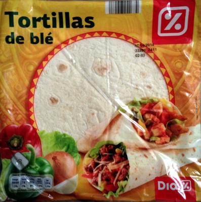 Tortillas de blé - Prodotto - fr