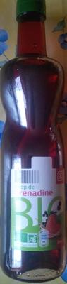 Sirop de grenadine bio - Produkt - fr