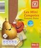 Les mini compotes Pomme Poire - Product