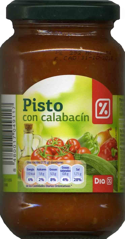 Pisto con Calabacín - Product