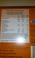 Galletas de chocolate rellenas de naranja - Nutrition facts