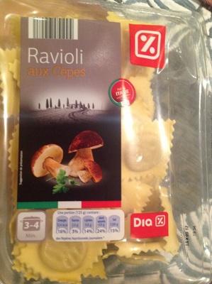 Raviolis aux cêpes - Product - fr
