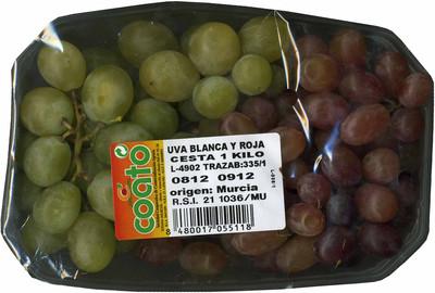 Uvas blancas y rojas - 2