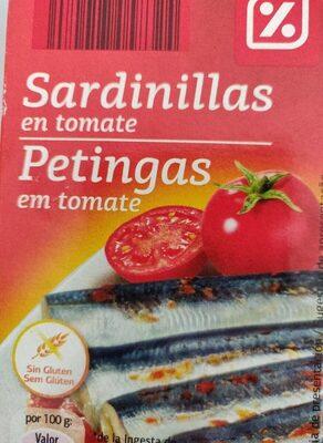 Petingas em tomate - Produto - es