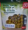 Olives vertes dénoyautées - Producte