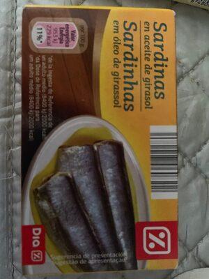 Sardines En Aceite Végétal - Produit