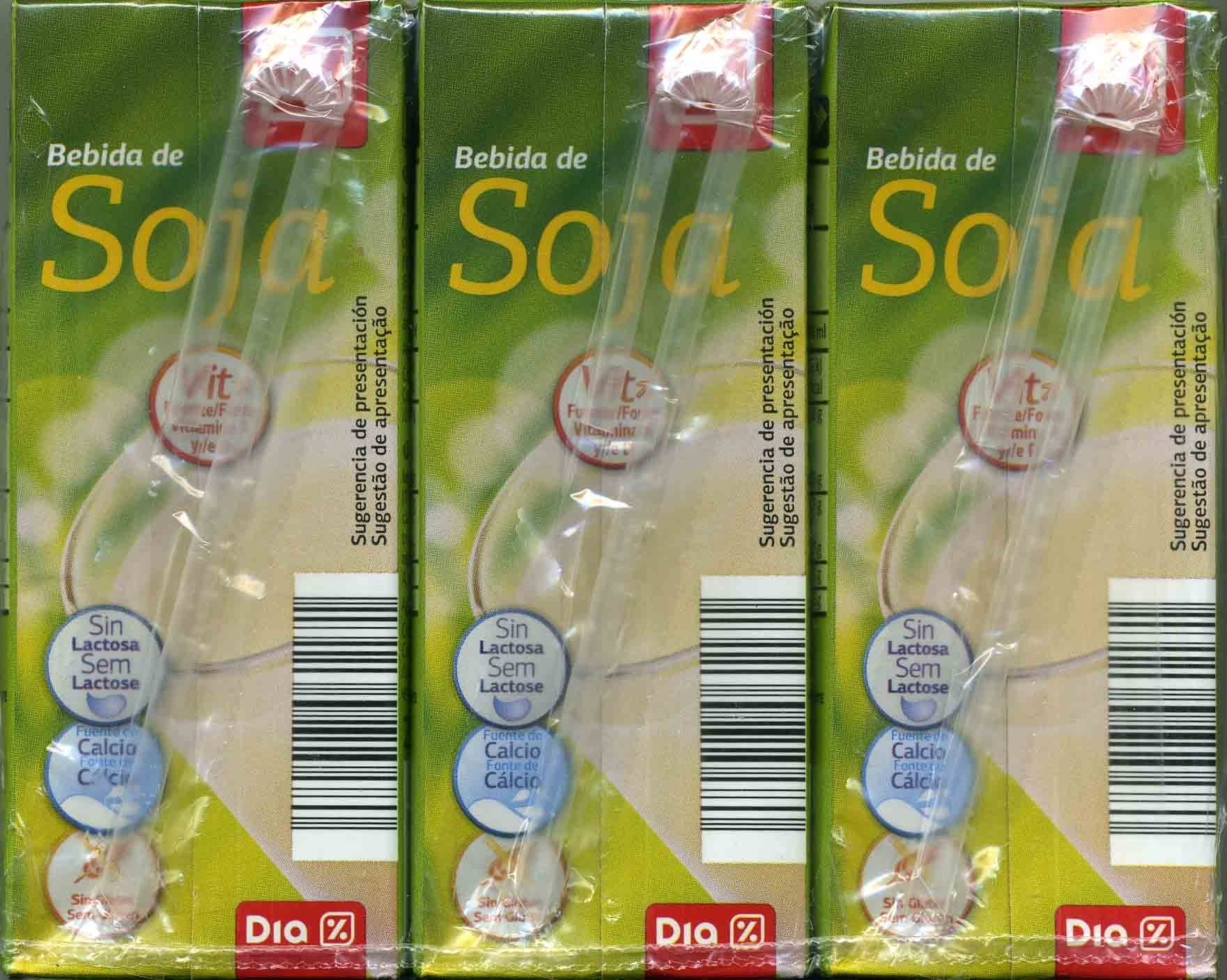Bebida de soja - Pack de 3 - Producto