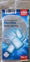 Chewing-gum menthe sans sucres - Product - fr