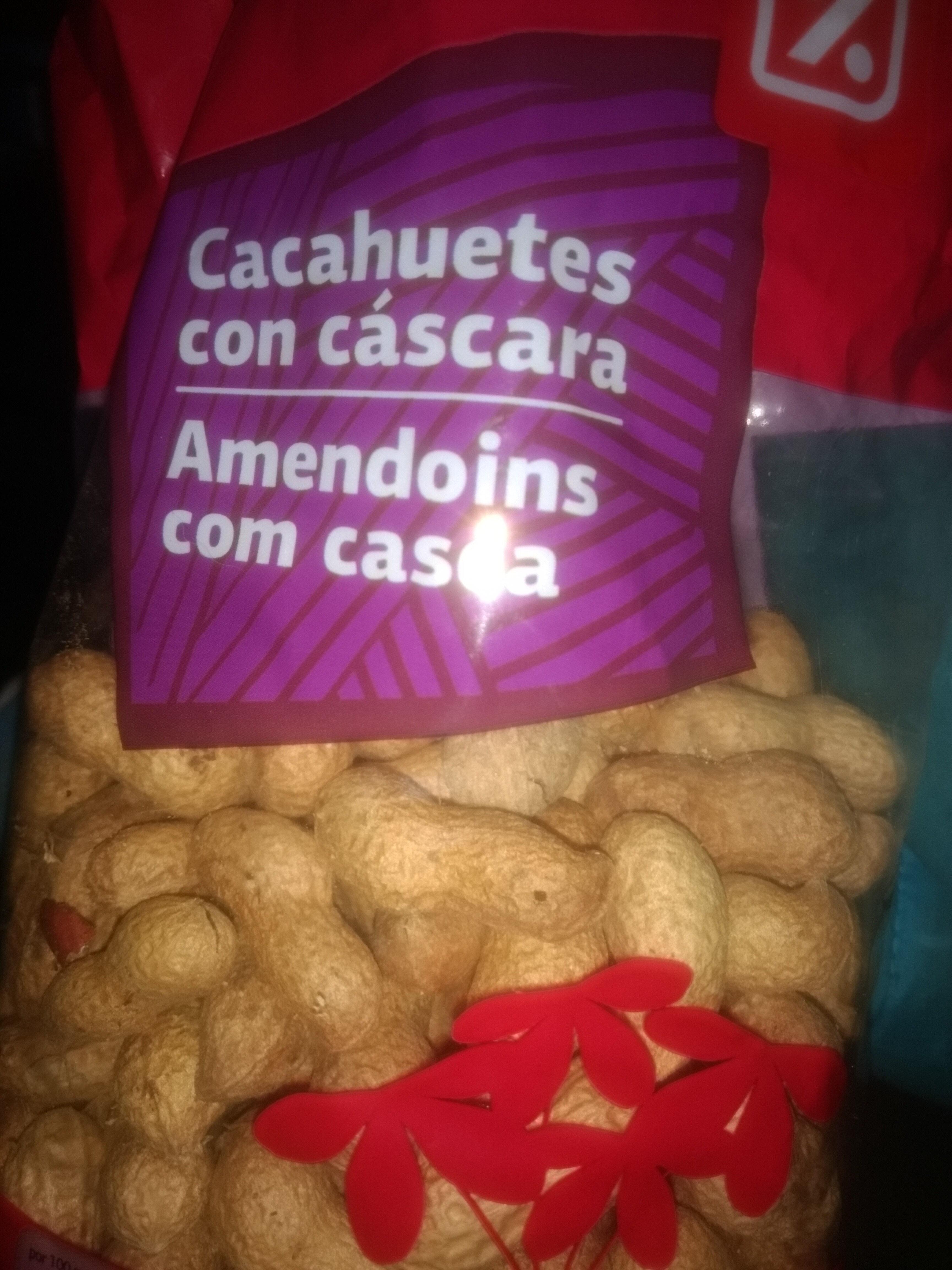 Cacahuetes con cáscara - Product - es
