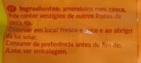 Amendoins com casca - Ingredients