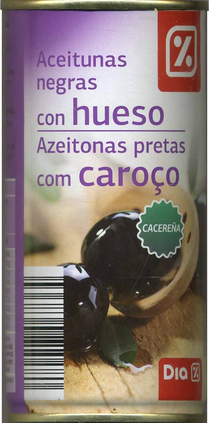 Aceituna negra con hueso - Produit - es