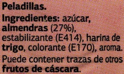 Peladillas - Ingredientes