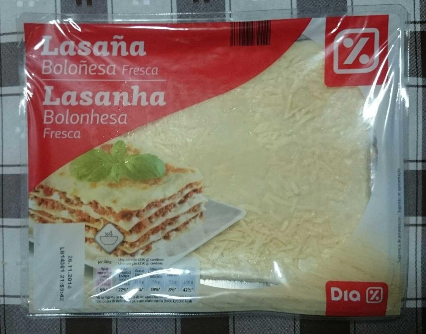 Lasanha Bolonhesa fresca - Product - pt