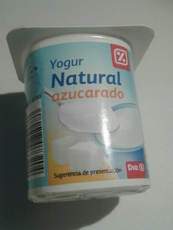 Yogur natural azucarado - Prodotto - es