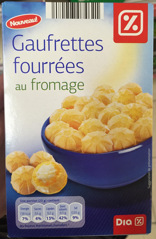 Gaufrettes fourrées au fromage - Product - fr