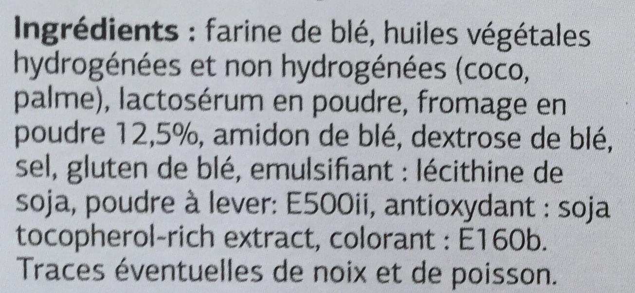 Gaufrettes fourrées au fromage - Ingredients - fr