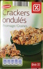 Crackers ondulés Fromage / Graines - Product
