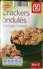 Crackers ondulés Fromage / Graines - Produit