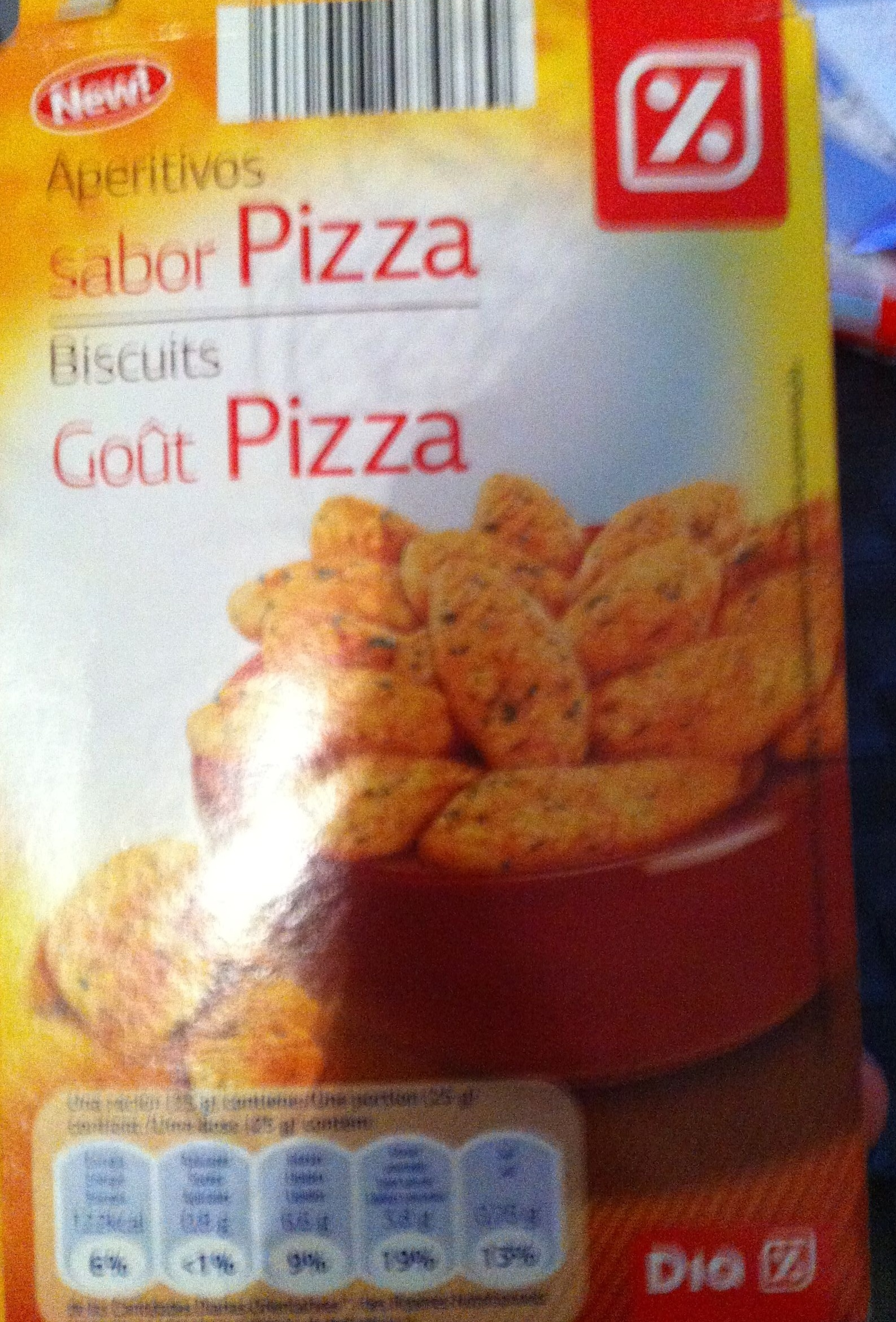 Bicuits goût pizza - Product