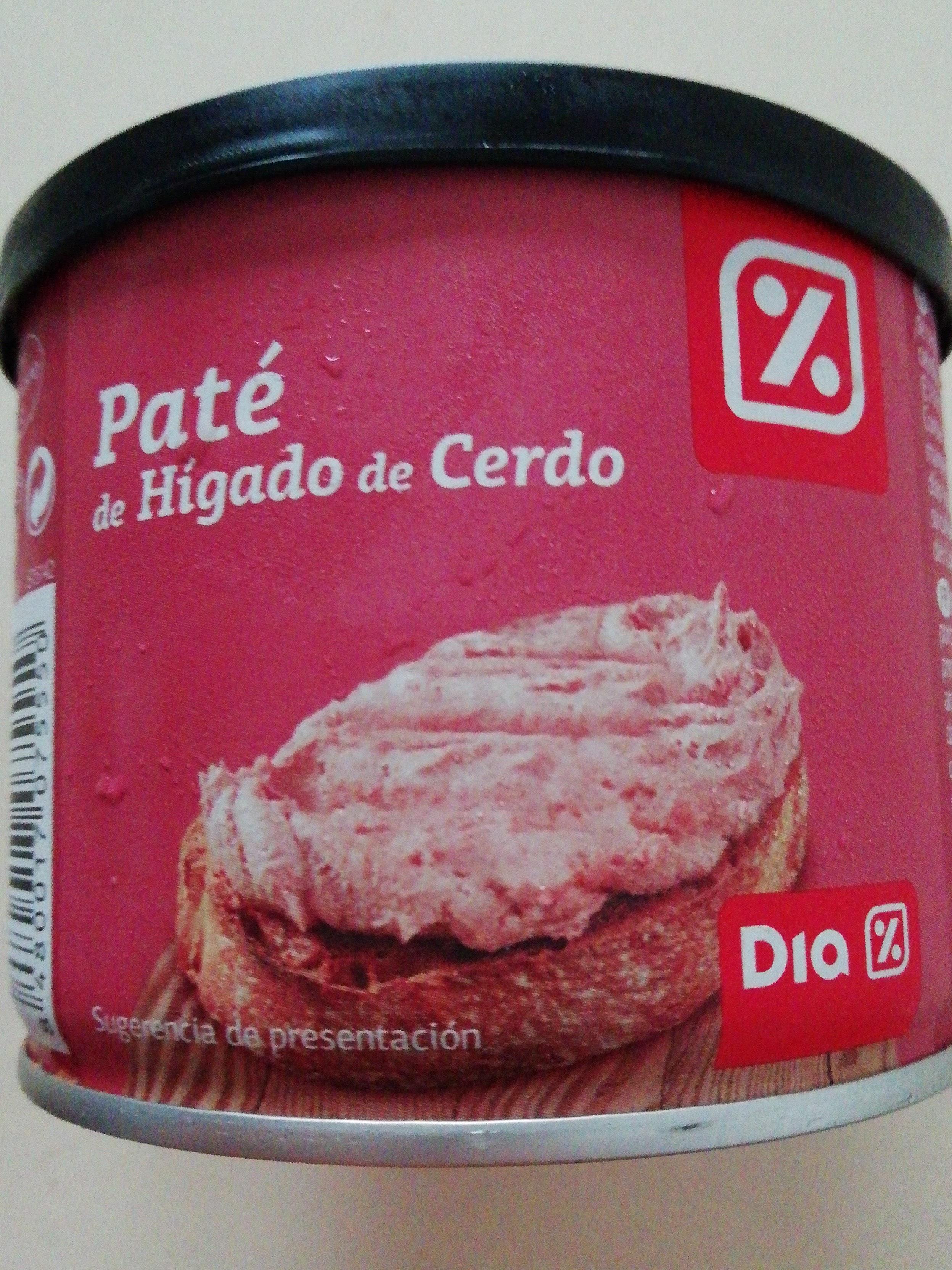 Paté de Hígado de Cerdo - Producto - es