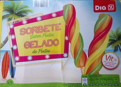 Sorbete Sabor Frutas - Product - es