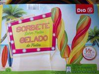 Sorbete Sabor Frutas - Produit - fr