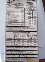 Bebida de soja Light - Voedingswaarden - es