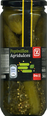 Pepinillos agridulces - Producte