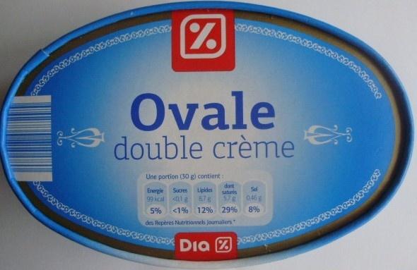 Ovale double crème (29% MG) - Product - fr