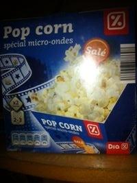 Pop corn spécial micro-ondes - Product