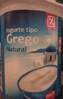 Yogur griego natural - Produit - fr