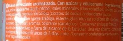 Get Move Naranja - Ingredienti - es