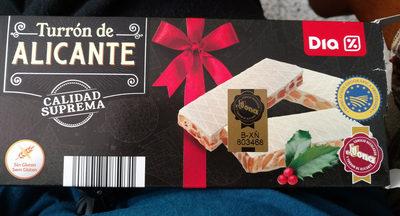 Turron de Alicante - Producte