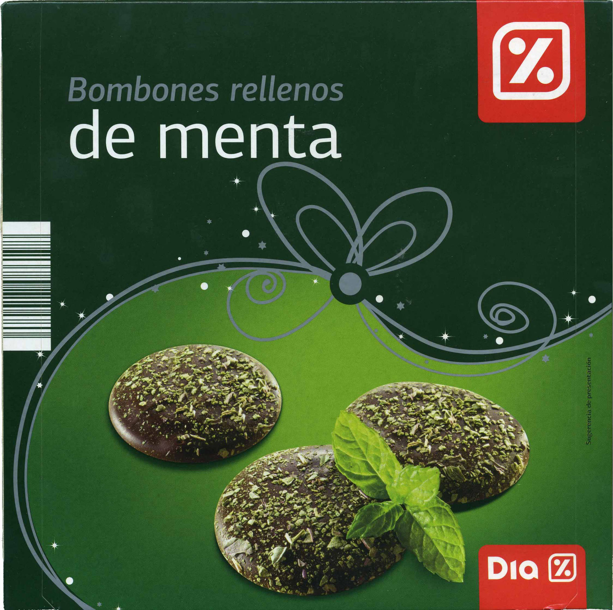 Bombones rellenos de menta - DESCATALOGADO - Produit