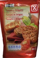 Tostadas con tomate y orégano - Producto - es