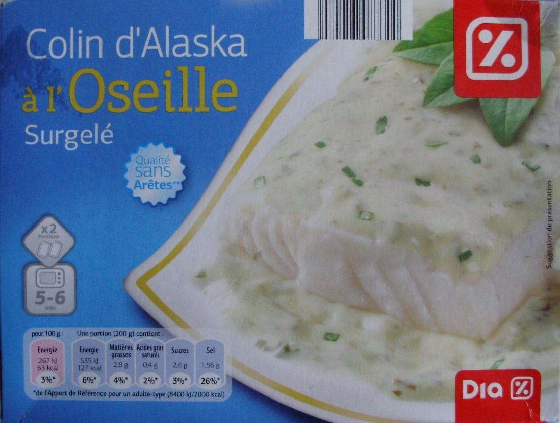 Colin d 39 alaska l 39 oseille surgel dia 400 g 2 x 200 g - Cuisiner du colin surgele ...