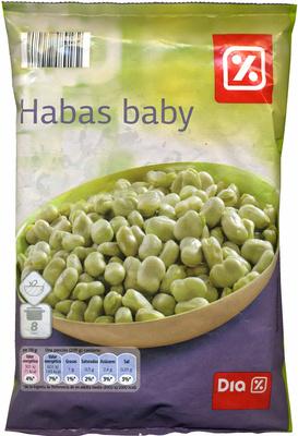 Habas babys ultracongeladod