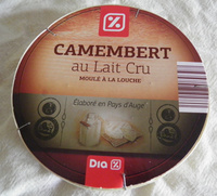 Camembert (22% MG) au Lait Cru - 250 g - Dia - Produit