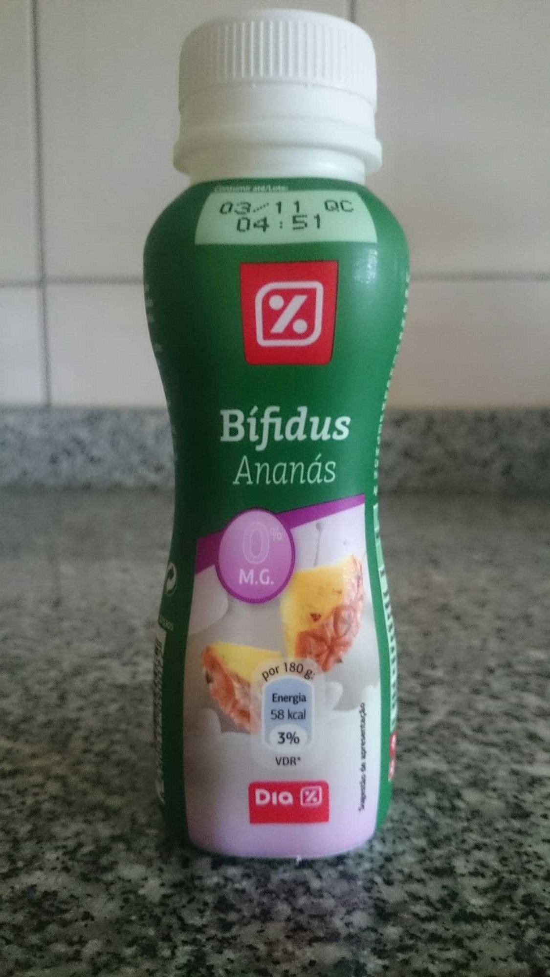 Bífidus ananás - Produto - pt