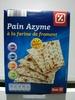 Pain Azyme à la farine de Froment - Product