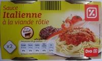 Sauce Italienne à la viande rôtie (Pur Bœuf) - Produit - fr