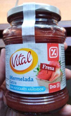 Mermelada Extra Vital Fresa