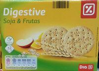 Galletas Digestive Soja & Frutas - Product - es