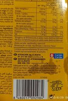 Galletas Digestive Soja & Frutas - Información nutricional - es