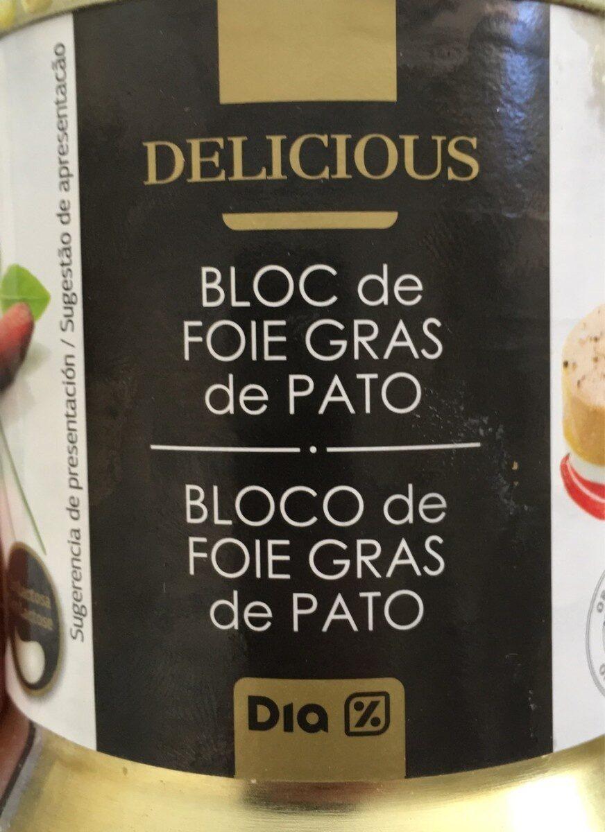 Bloc de foie gras de pato - Product