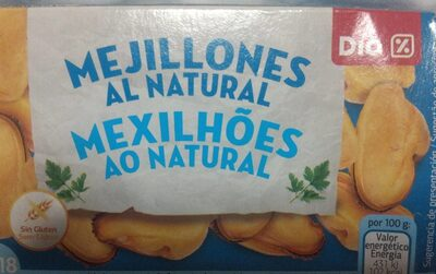 Mejillones al natural - Producte - es